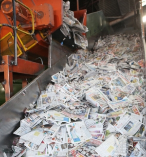 paper recycling in South Africa