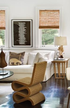 corrugated cardboard wiggle chair