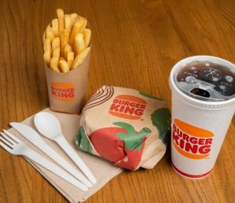 Burger King - green packaging