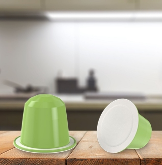 compostable coffee capsule