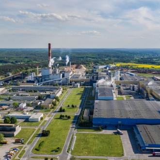 Kwidzyn Mill in Poland