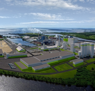 Metsä Fibre Kemi bioproduct mill
