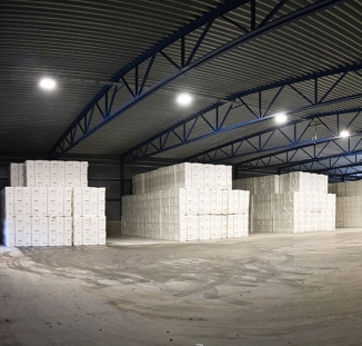 Rottneros pulp storage