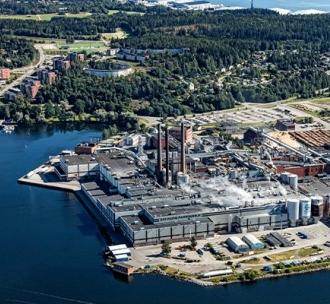 SCA Ortviken mill