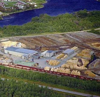 Senneterre (Quebec) sawmill