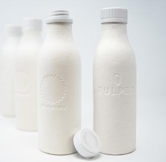 Stora Enso Pulpex fiber bottle