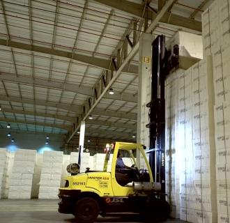 Suzano pulp warehouse