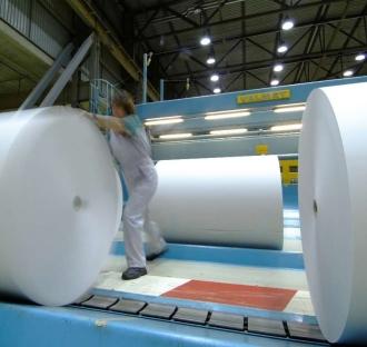 Shotton Mill paper rolls