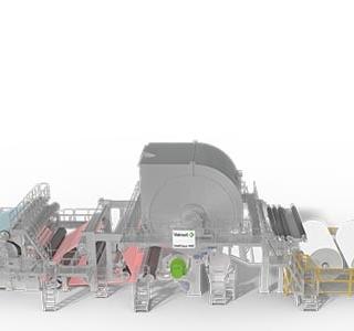 Valmet IntelliTissue 1600 tissue machine