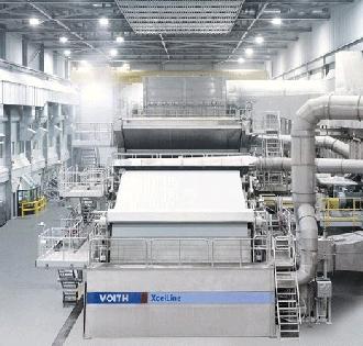 Voith XcelLine Paper Machine