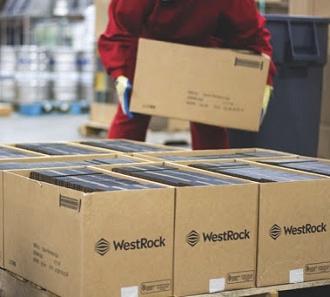 WestRock - corrugated boxes