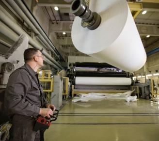 Zanders Paper - paper machine