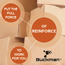 Reinforce for Recycled Packaging