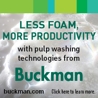 Buckman - Pulp washing technology is transforming how pulp, paper, tissue and packaging products are made