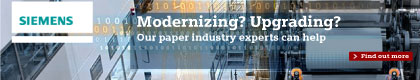 Siemens - Providing process solutions for the pulp and paper industry.