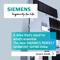 Siemens - SINAMICS PERFECT HARMONY GH180 Air-Cooled Drive