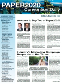 Paper2020 Convention Daily - Monday, March 16, 2020